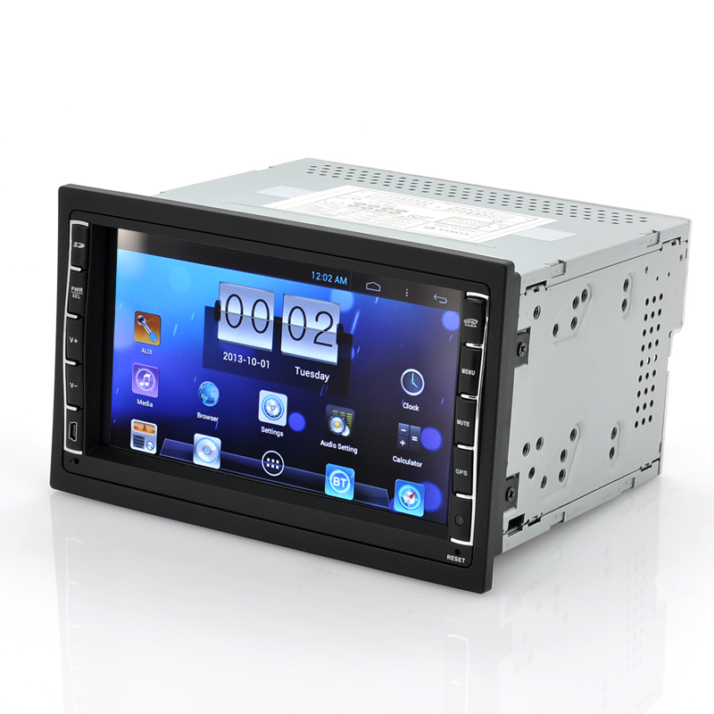 wholesale car android multimedia player 2 din car system. Black Bedroom Furniture Sets. Home Design Ideas