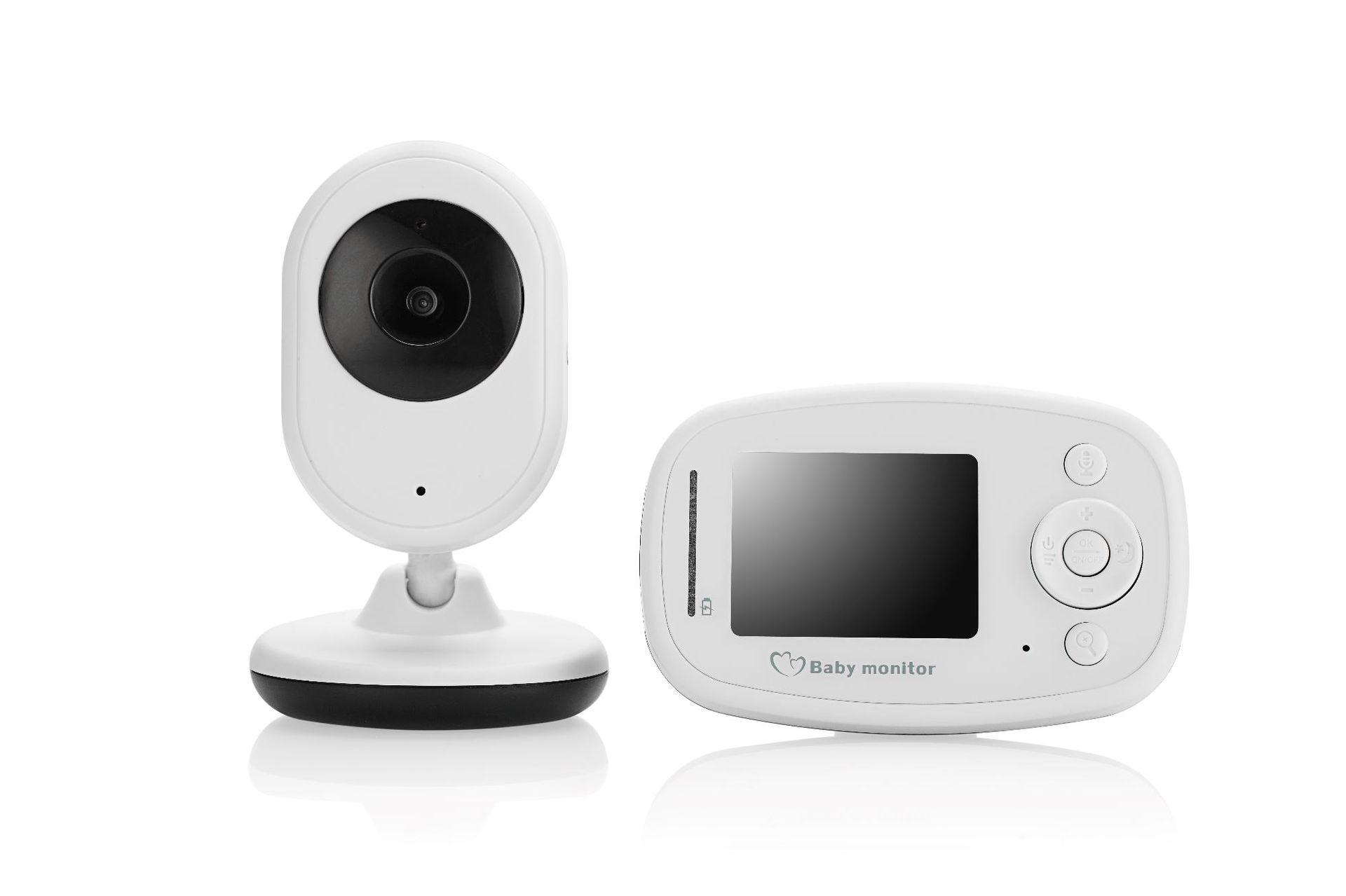 SP820 Wireless Baby Surveillance Camera Digital Caregiver Supports Intercom Room Temperature Display Lullaby Singing US Plug