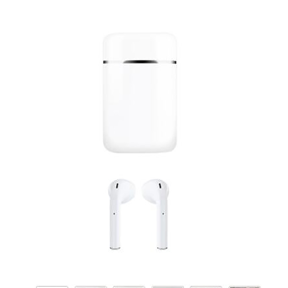 S9mini TWS Wireless Bluetooth Headset Sweet Color Mini Waterproof Headphones Sports HIFI Stereo Touch white