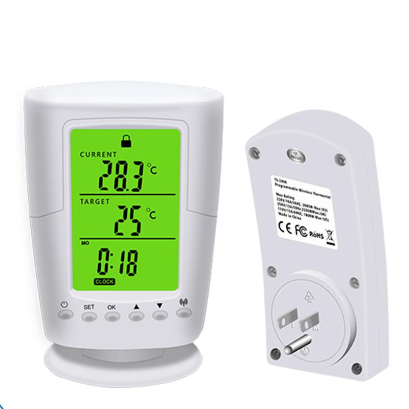Multifunctional Wireless Thermostat Socket LCD Temperature Control Socket U.S. regulations