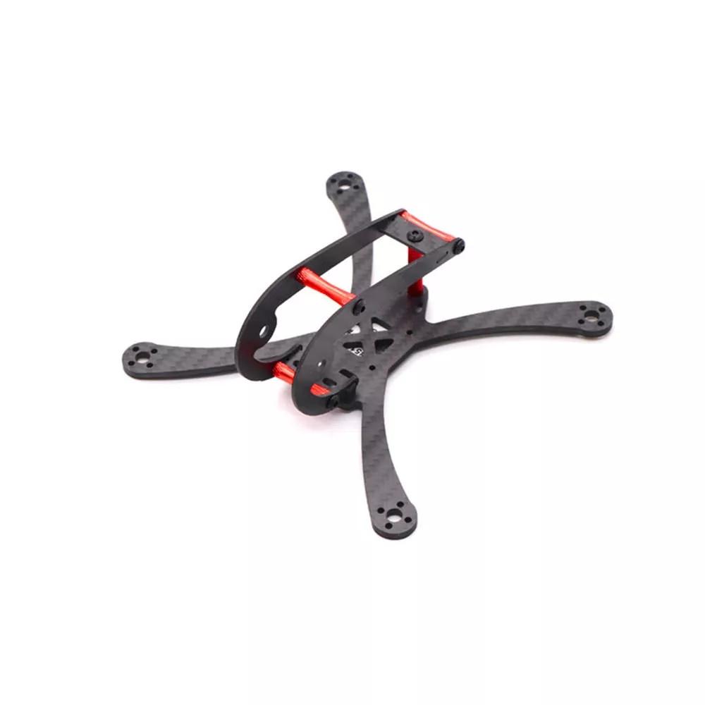 HSKRC Mini X118 118mm/ X150 150mm Carbon Fiber W/ 3mm Arm FPV Racing Frame Kit for RC Drone 3MM
