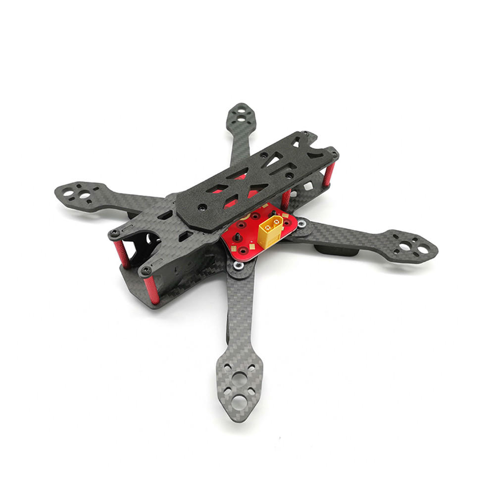 HSKRC Martian IV 220mm 5 Inch / 290mm 7 Inch / 330mm 8 Inch 4mm Arm Frame Kit w/ PDB for RC Drone FPV Racing  5 Inch (220mm) KSX3721
