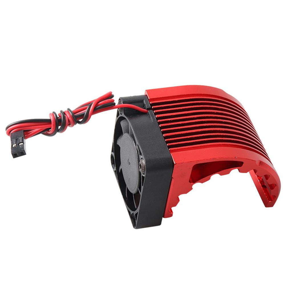 40*40mm Heatsink Fin DC 5V Fan Cooling For Hobbywing Leopard RC Brushless Motor Engine 42mm 1515 4274 4268 812 T8 K80 4272 red