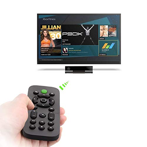 Media Remote Control for Xbox ONE Wireless DVD Entertainment Multimedia for Xbox ONE Host Multi-function Remote Controller  black