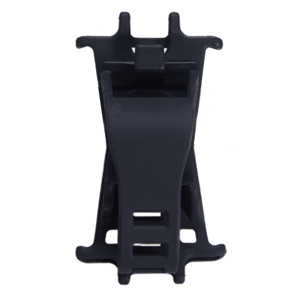 Outdoor Bike Phone Mount Holder Bicycle Handlebar Mobile Phone Stand, Silicone Adjustable Phone Holders for 4-6Inch Screen Smartphones GPS black