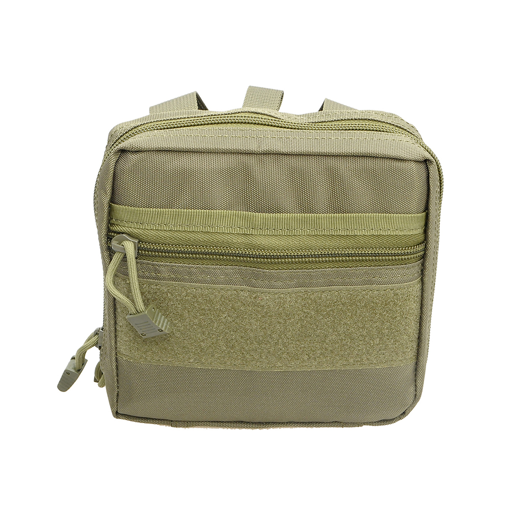 Wear-resistant Nylon Medical First Aid Pouch Medic Outdoor Tool Hand Bag  ArmyGreen_One size