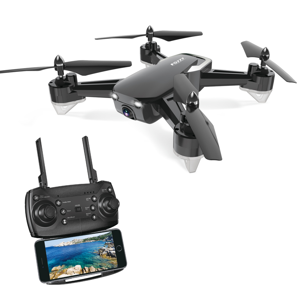 FQ777 FQ40 DRON 2.4G /640P/720P/No Camera  FPV WIFI HD Camera Drone Hover RC Helicopter Quadcopter Drones with Camera HD Black 300,000 pixels