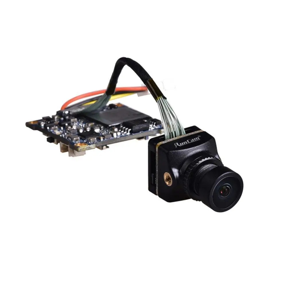 RunCam Split 3 Nano whoop 1080P 60fps HD Recording WDR Low Latency 16:9/4:3 NTSC/PAL Switchable FPV Camera For RC Drone black