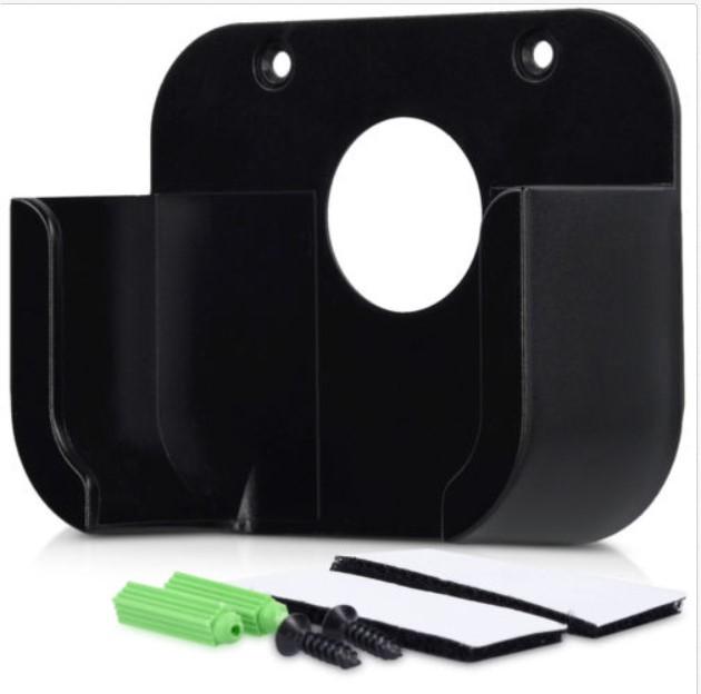 Wall Mount Bracket Holder Case for Apple TV 1/2/3/4 Media Player TV Box black