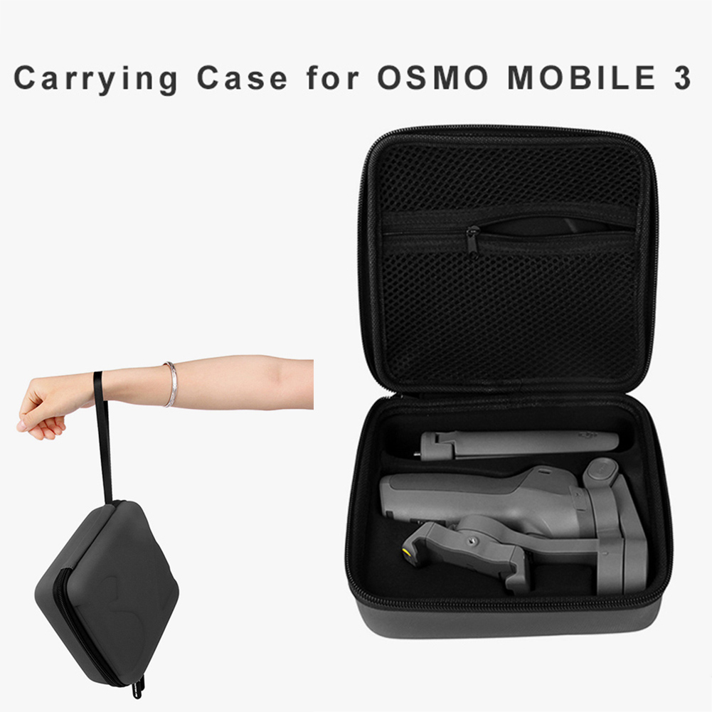 For OSMO Mobile 3 Storage Bag DIY Carrying Case for DJI OSMO MOBILE 3 Box Sport Video Camera Travel Bag gray