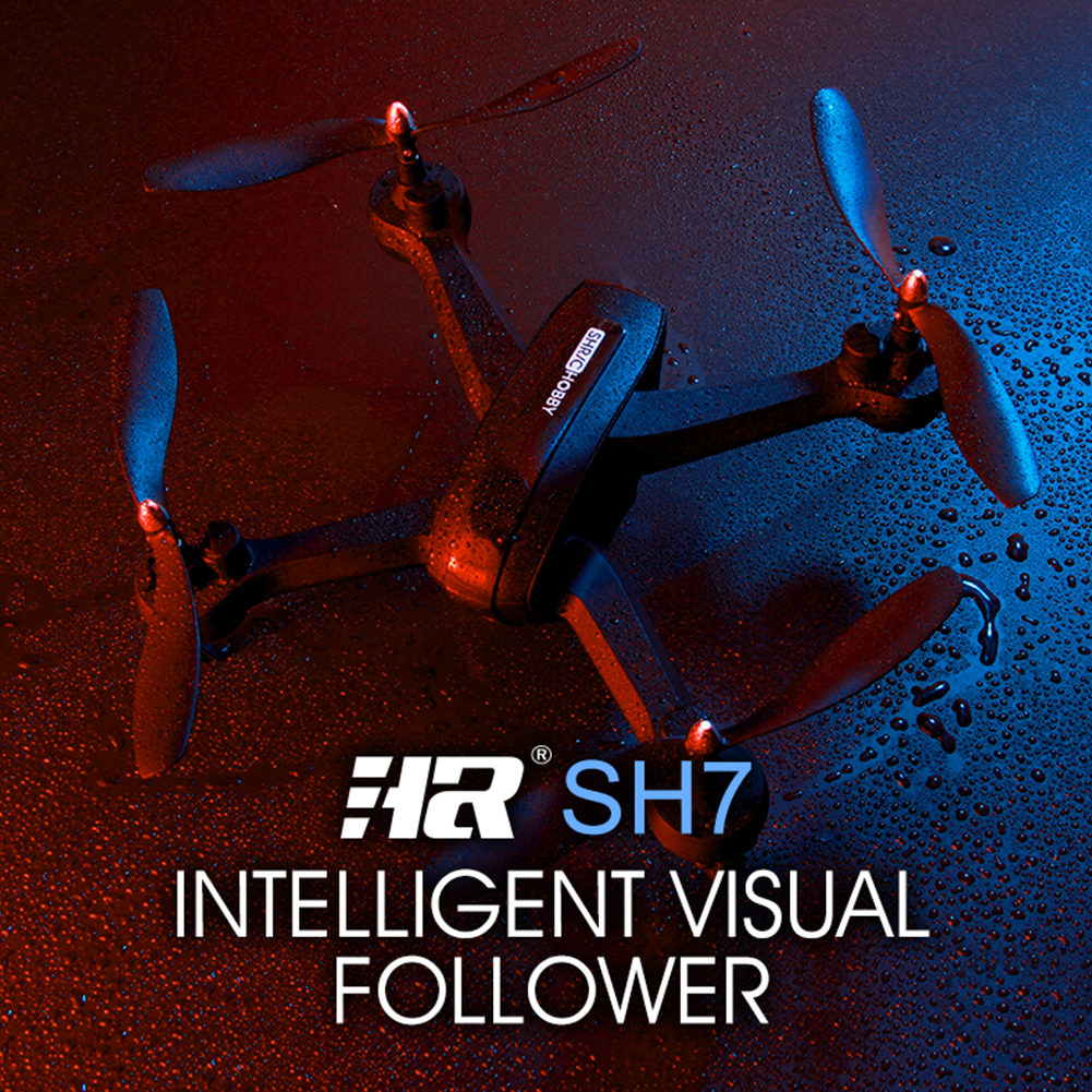 HR SH7 RC Drone Black