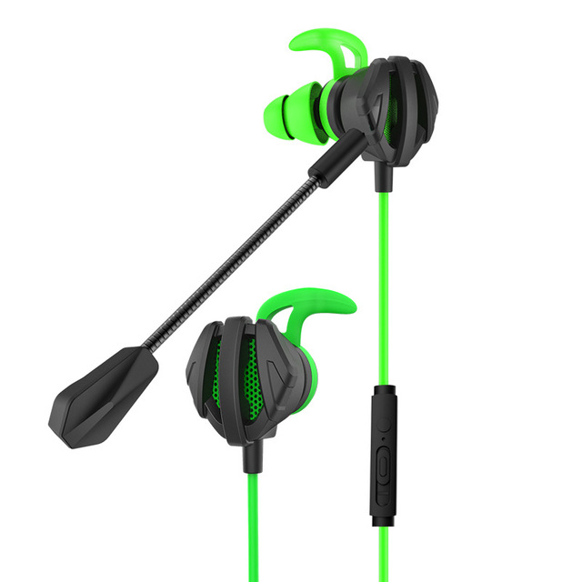 Gaming Earphone For Pubg PS4 CSGO Casque Games Headset 7.1 With Mic Volume Control PC Gamer Earphones G6 green