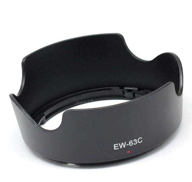 Generic EW-63C EW63C Camera Lens Hood for Canon EF-S 18-55mm f/3.5-5.6 IS STM