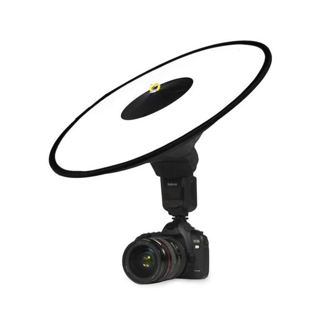 Camera Softbox Flash Light Conical Diffuser Ring Softbox Soft Light Cover Portrait Light Fill Cover 45cm