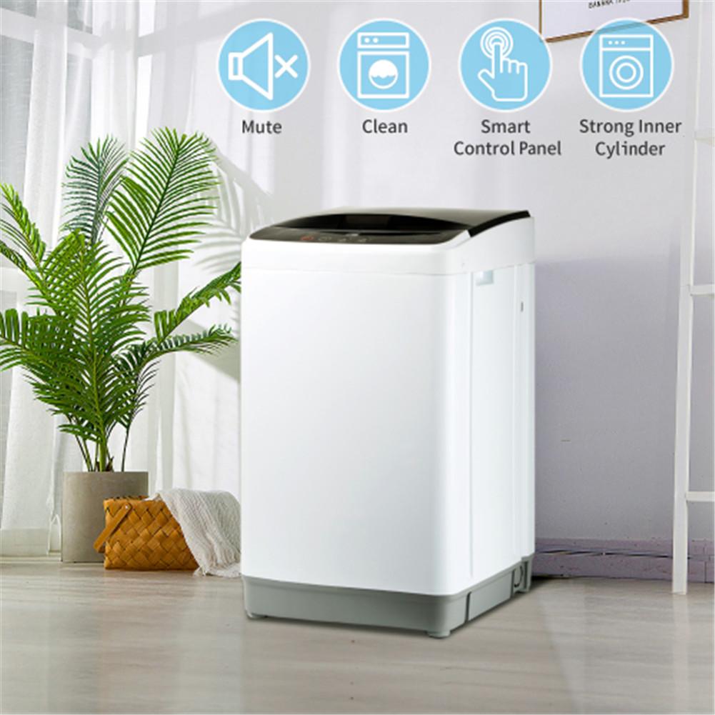 Automatic Washing Machine 8 Lbs Load Capacity Portable Washer
