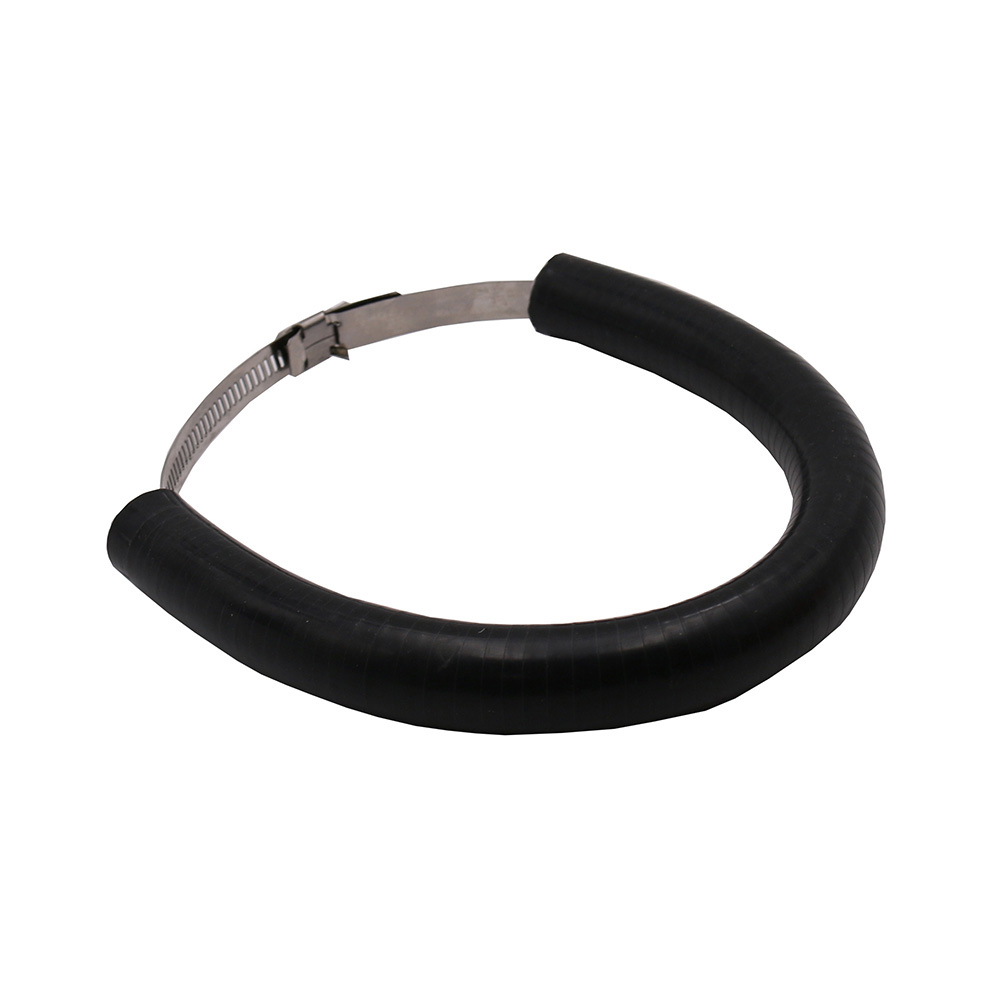 Motorcycle Accessories Silencer/Round Oval Exhaust Protector Can Cover for KTM EXC-F/EXC/SX-F 450/350/530/525/500   black