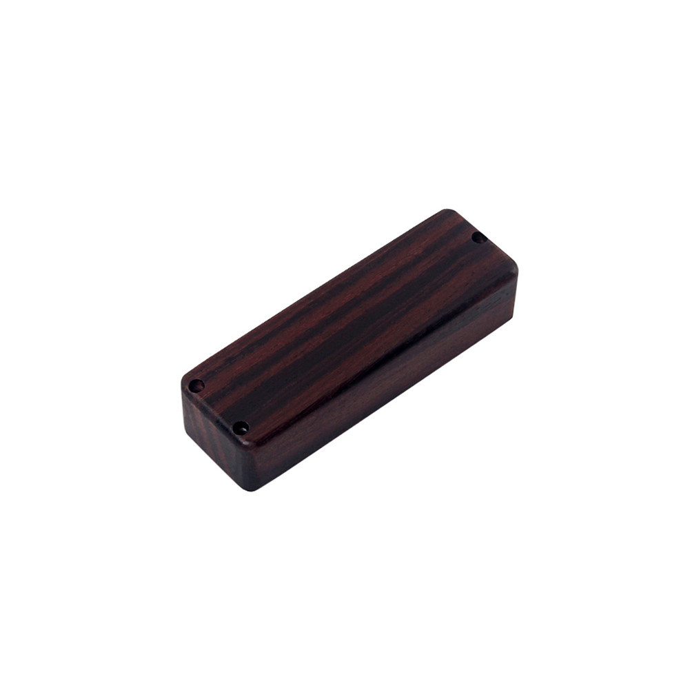 Rose Wood Bass Guitar Soapbar Pickup Cover Instrument Accessories Rose Wood