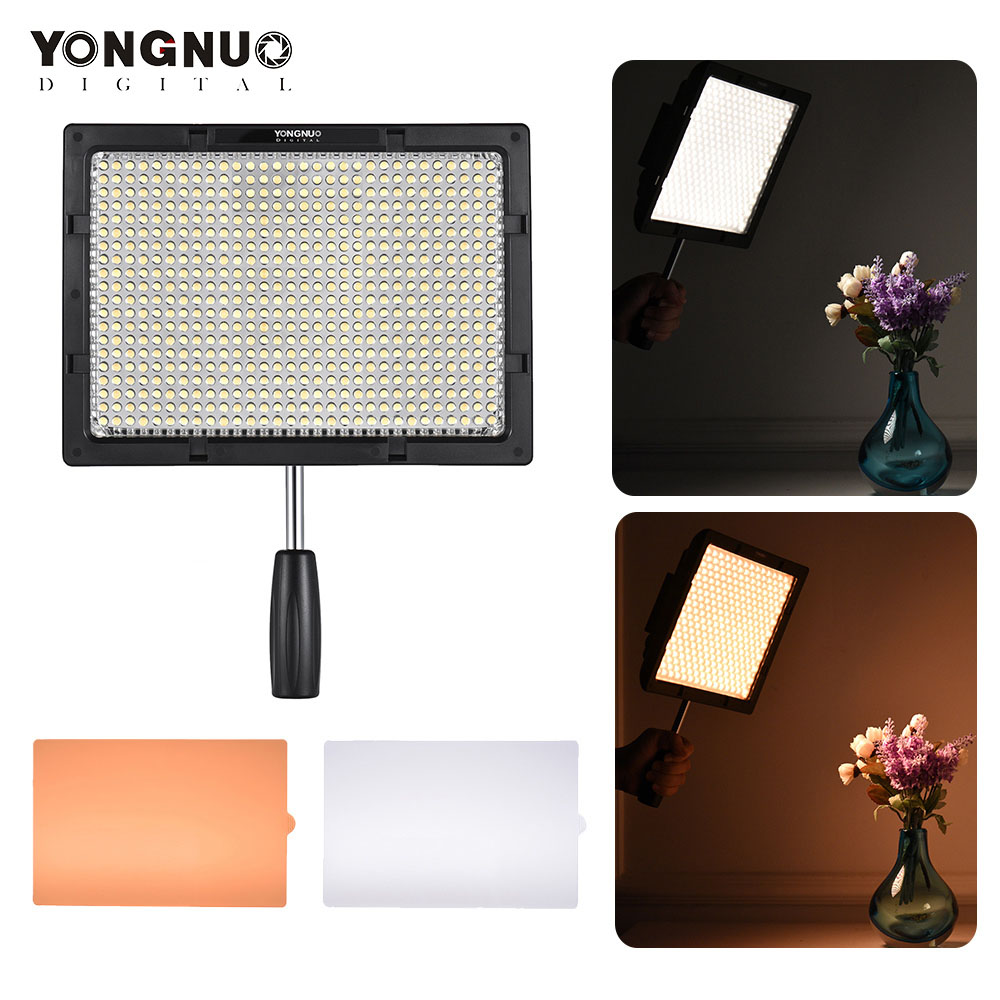 YONGNUO YN600S LED Camera Video Light Photography Lighting Video Light Adjustable Brightness Double color temperature 3200-5500k