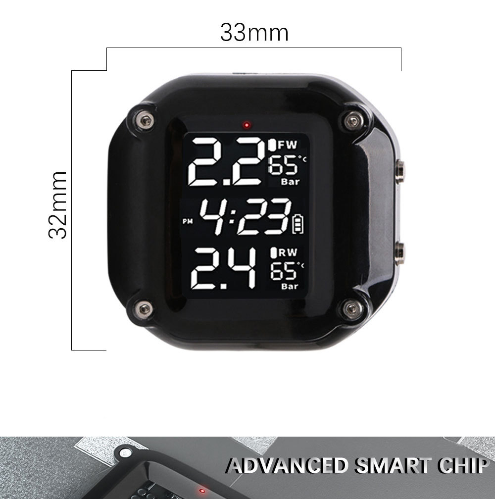 External Tire Pressure Monitor System Wireless High-precision Bluetooth Tire Pressure Monitor System Boxed