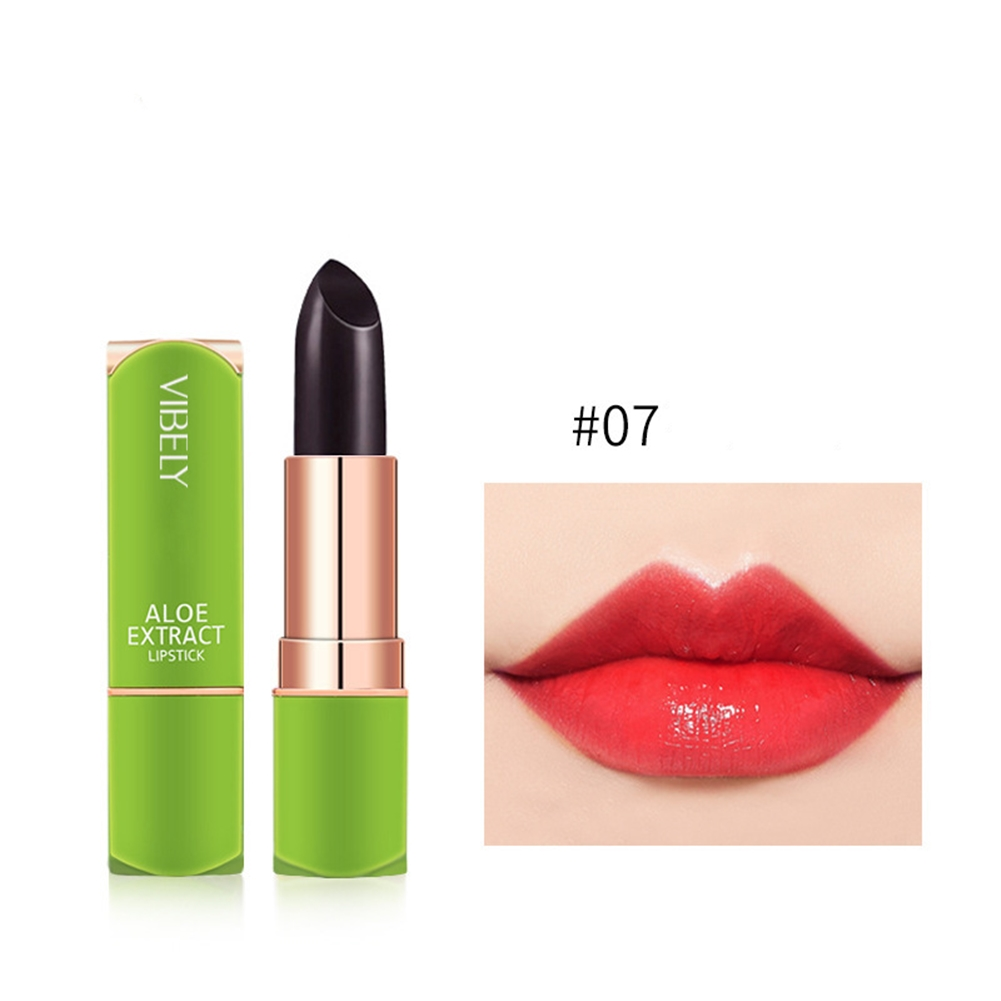 Color Changing Tinted Lip Balm Fashion Lipstick Aloe Vera Lipstick Moisturizing Long Lasting Lipstick