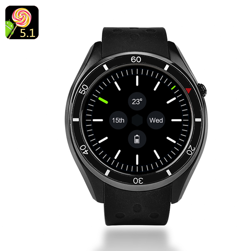 IQI I3 Android Smartwatch (Black)