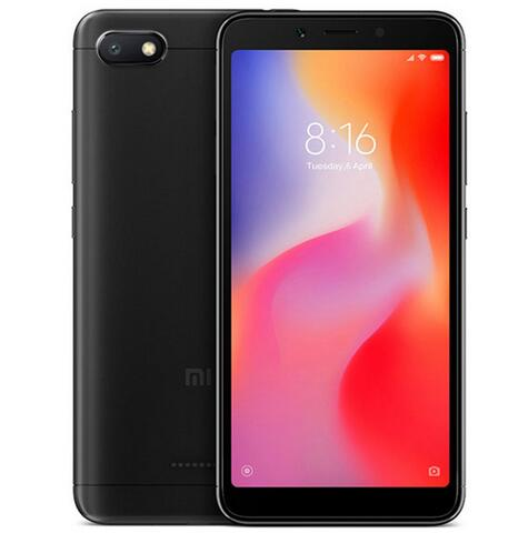Xiaomi Redmi 6A 2+16GB Cell Phone Black