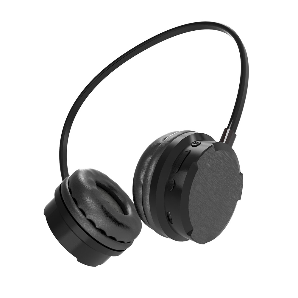 Bluetooth Headset Gaming with Microphone 7.1 Sound Channel Headphone for Music Mobile Phone Game black