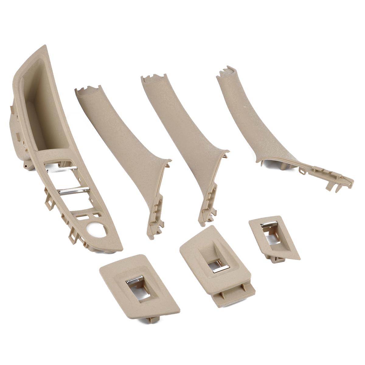 1Set Door Handle Window Switch Panel for BMW 5 Series 520 523 525 F10 F11 51417225873 A1880 beige