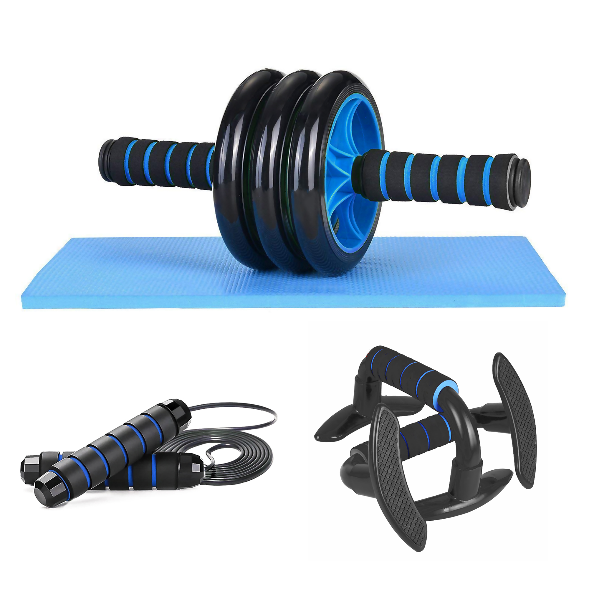 [US Direct] AB ROLLER SET (4 in 1)10% discount for new product