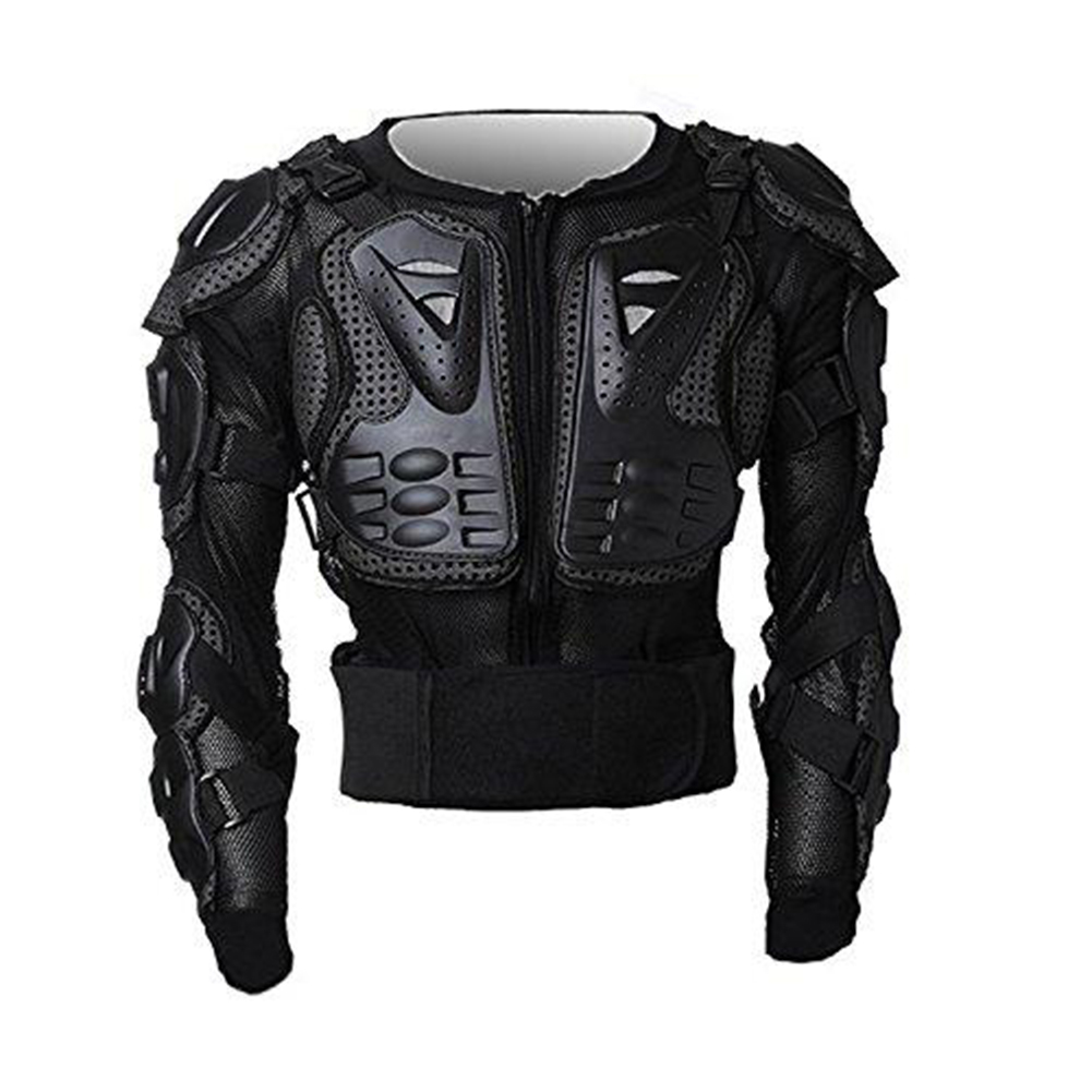 Generic Body Armor Jacket Protector Guard for Motocross Motorcycle black_M