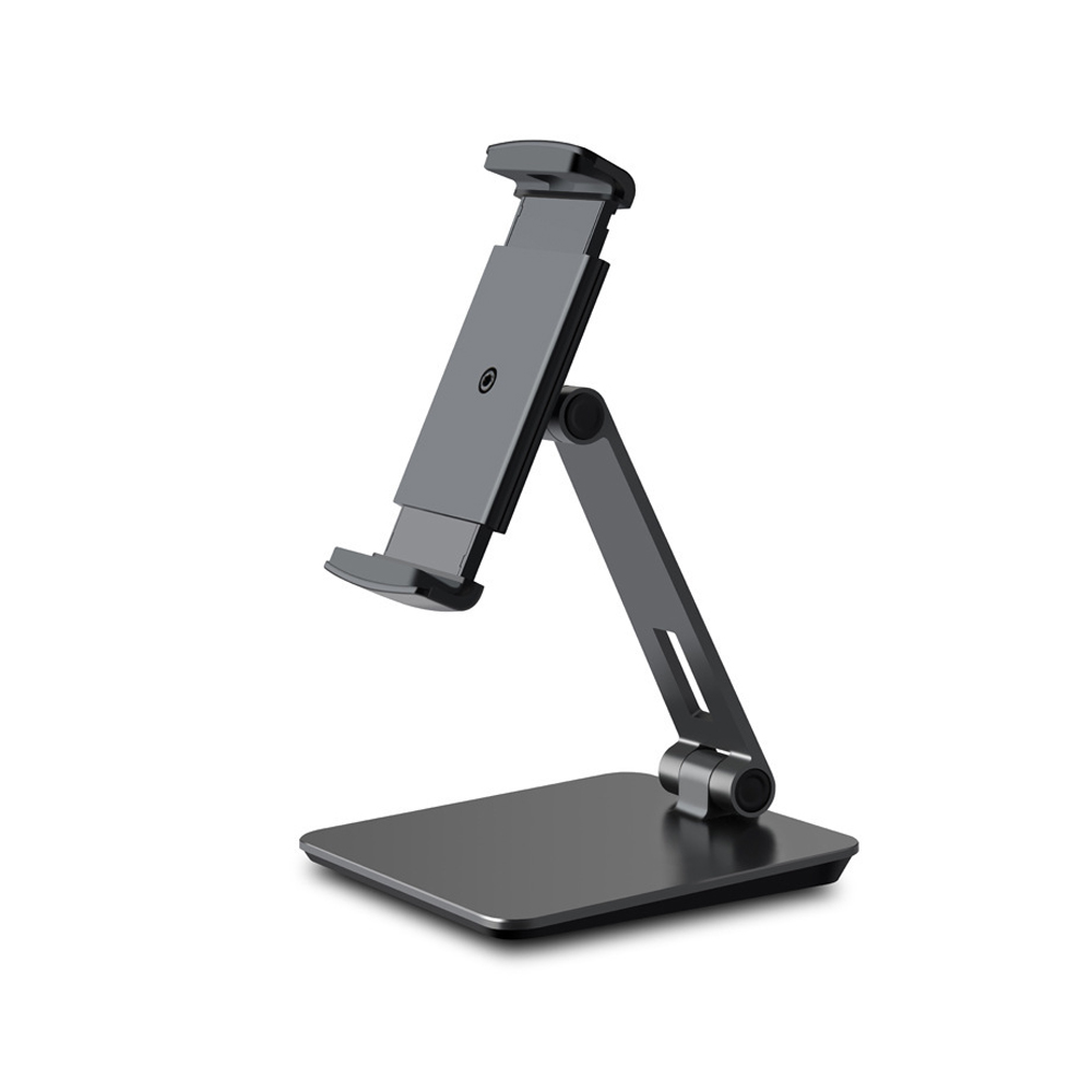 Full Motion 4-13 inch Tablet Holder Mobile Phone Smartphone Stand Universal Foldable Lazy Tablet PC Support  black