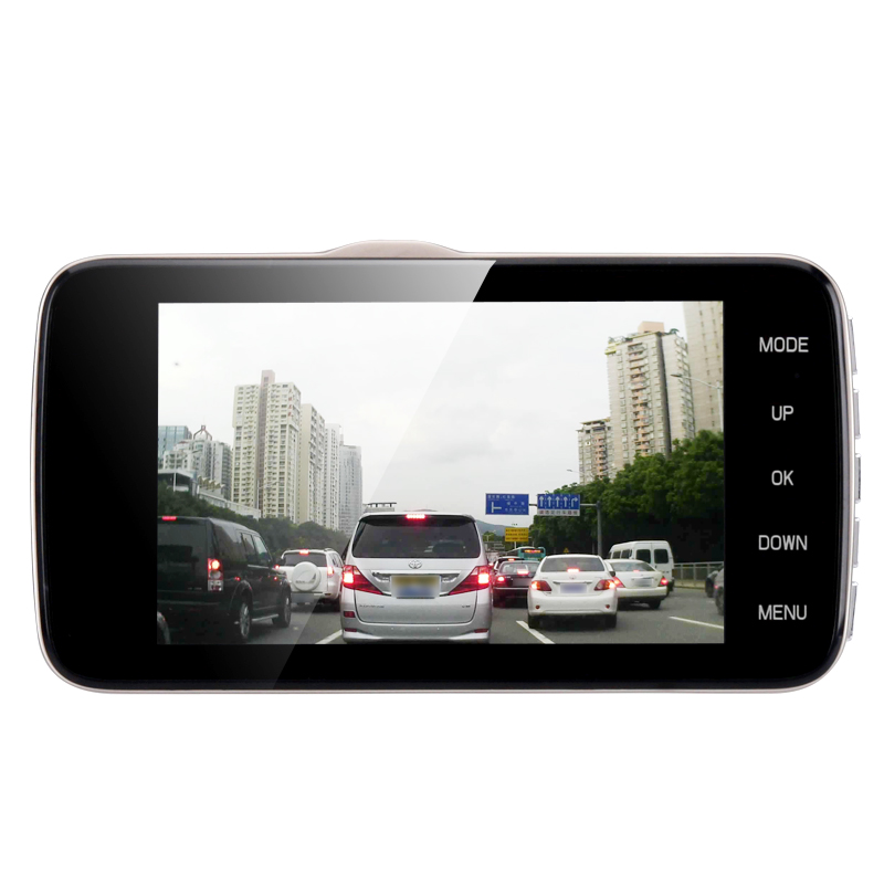 1080P Car Dash Camera - 170 Degree FOV, Parking Camera, Motion Detection, G-Sensor, Loop Recording, Time Stamp