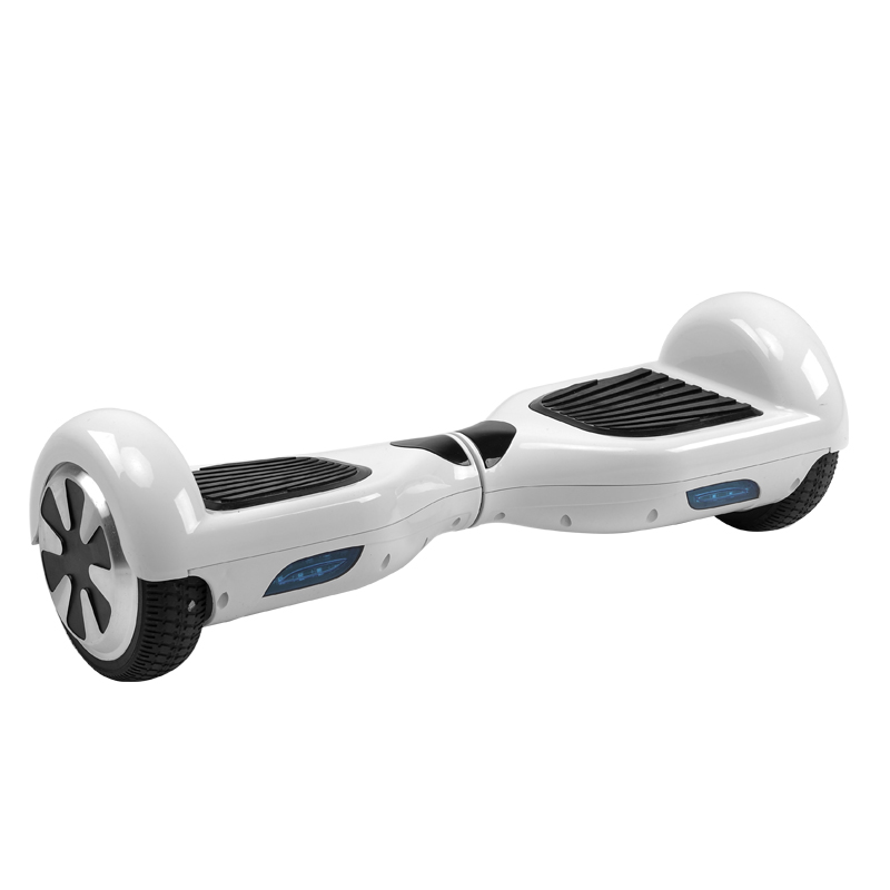 Dual Wheel Self Balancing Scooter (White)