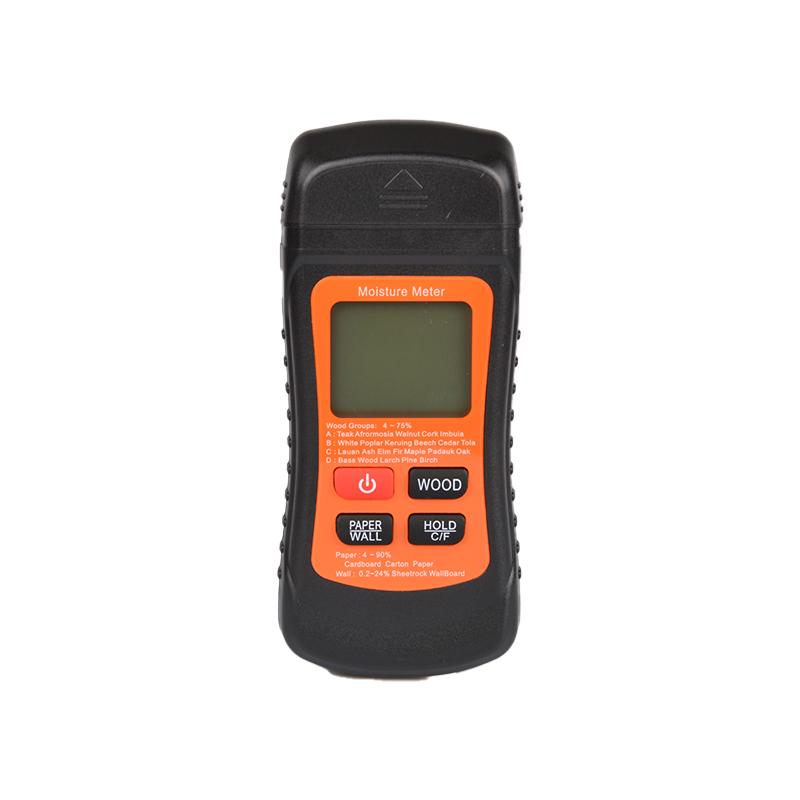 Two Pins Digital Wood Moisture Meter Humidity Tester Detector MT-02
