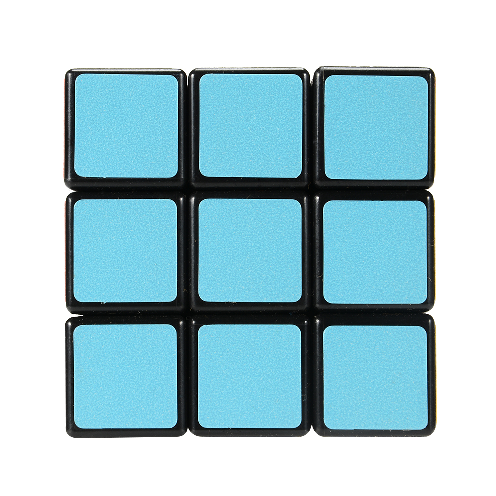 [US Direct] Lan Lan 3*3*3 Magic Cube Frosted Puzzle Cube  black