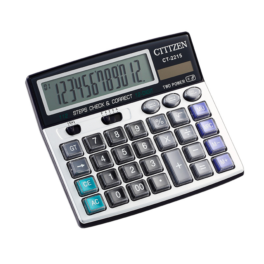 Big Buttons Office Calculator Large Computer Keys Muti-function Calculator as picture show