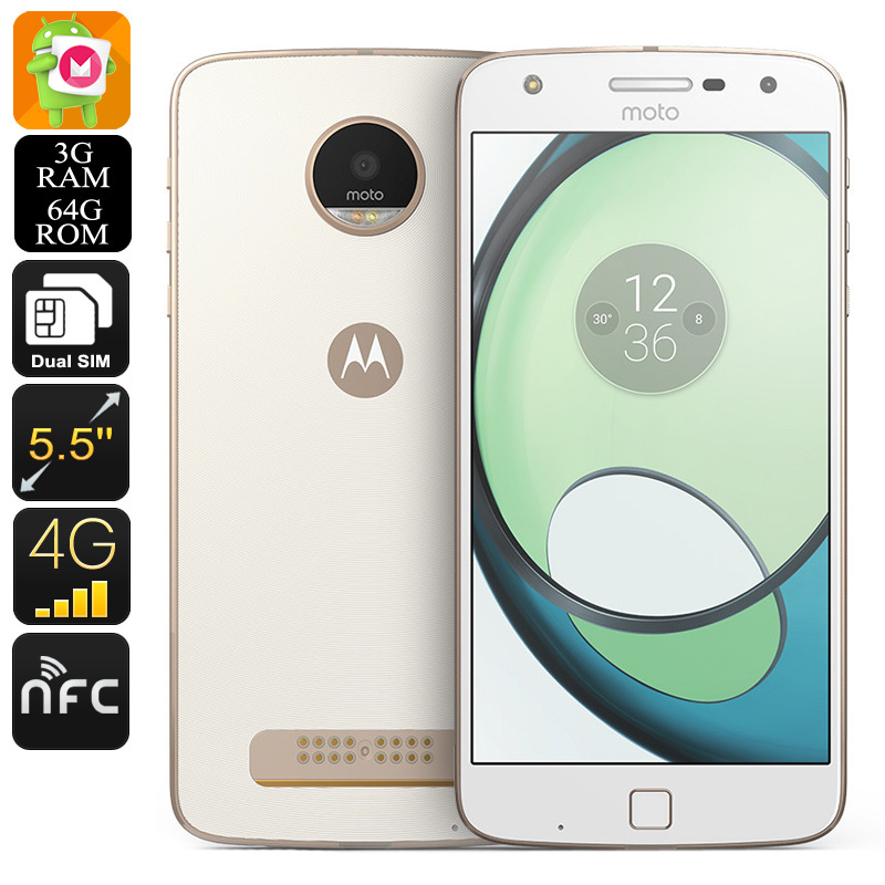 Lenovo Moto Z Play XT1635-03 Phone (White)