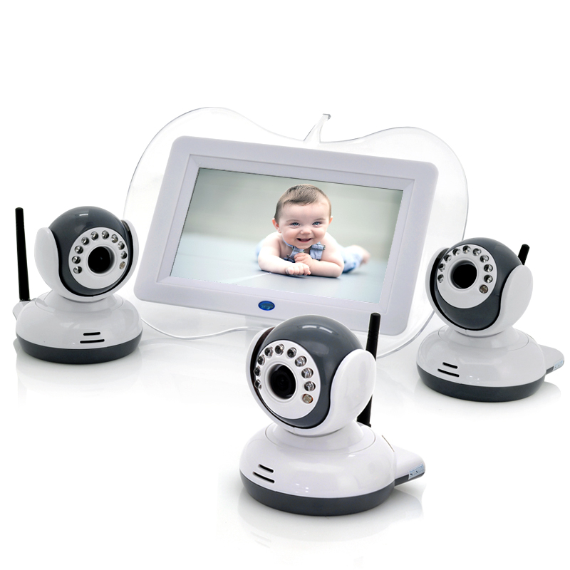 Digital Wireless Baby Monitor + 3x Cameras