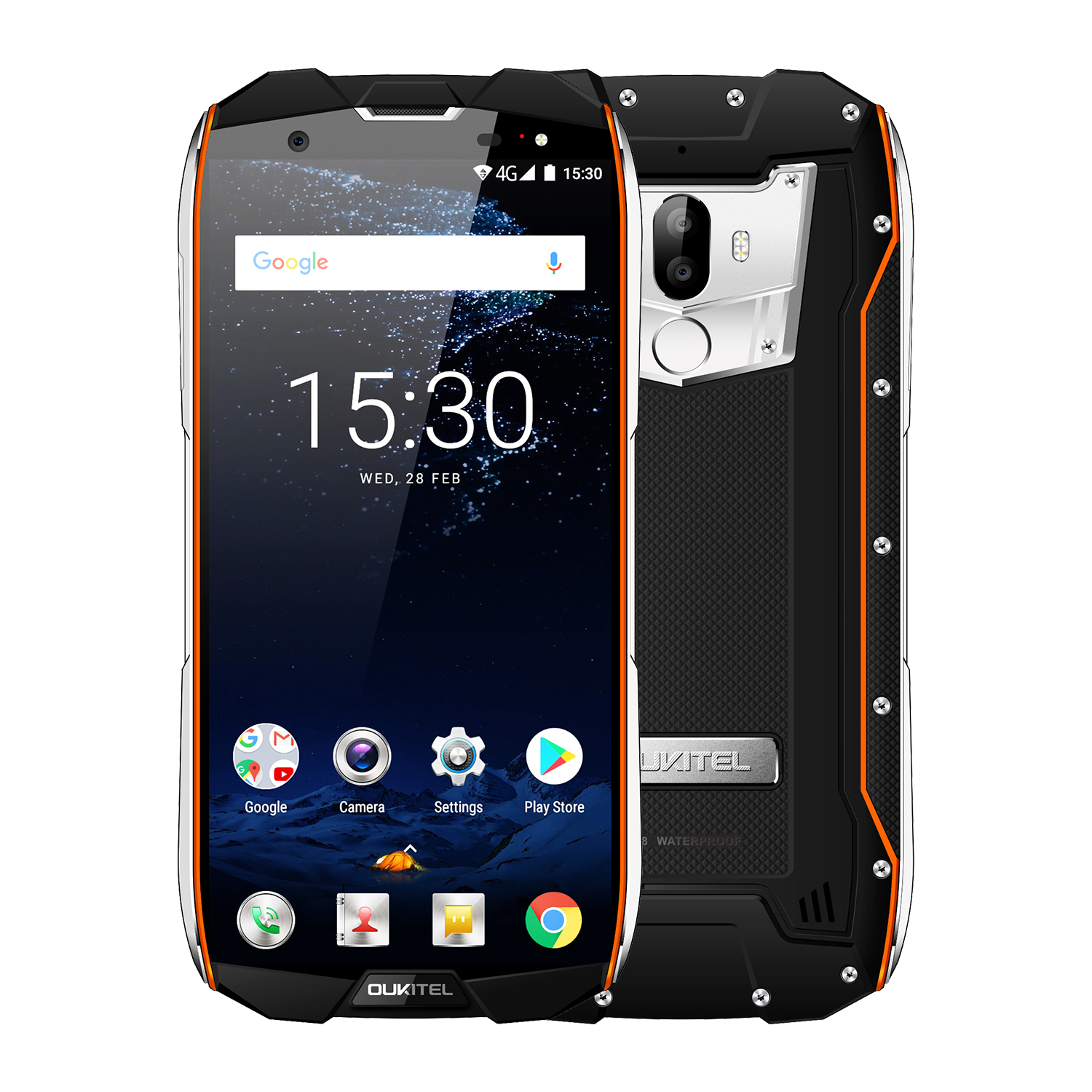 OUKITEL WP5000 5.7 Inch Smart Phone Orange