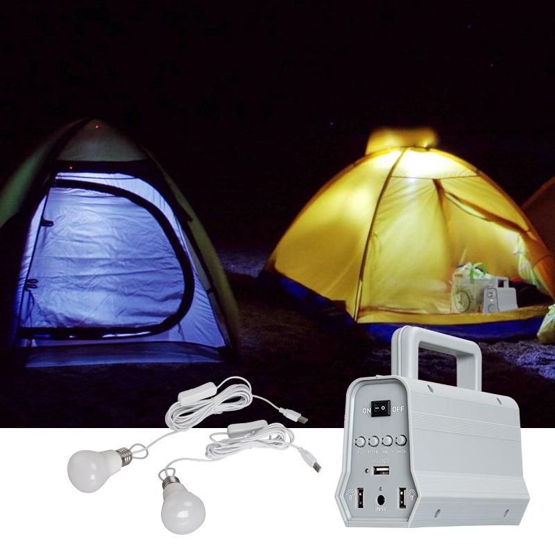 Bluetooth Speaker Solar Power Panel Night Light for Outdoor Camping Lighting  White light
