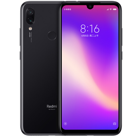 Redmi Note 7 4+64G Long Battery Life Dark