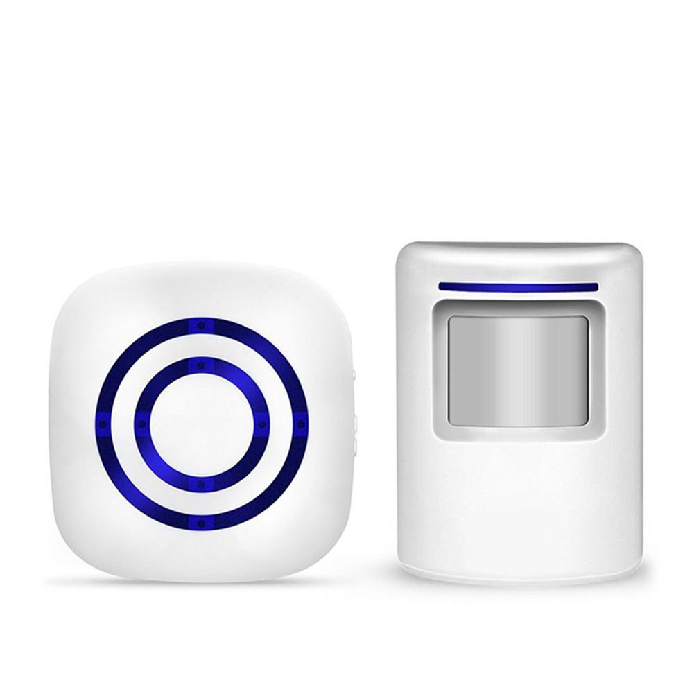 Human  Body  Sensor  Doorbell Receiver+transmitter Welcome Device Infrared Motion Alarm