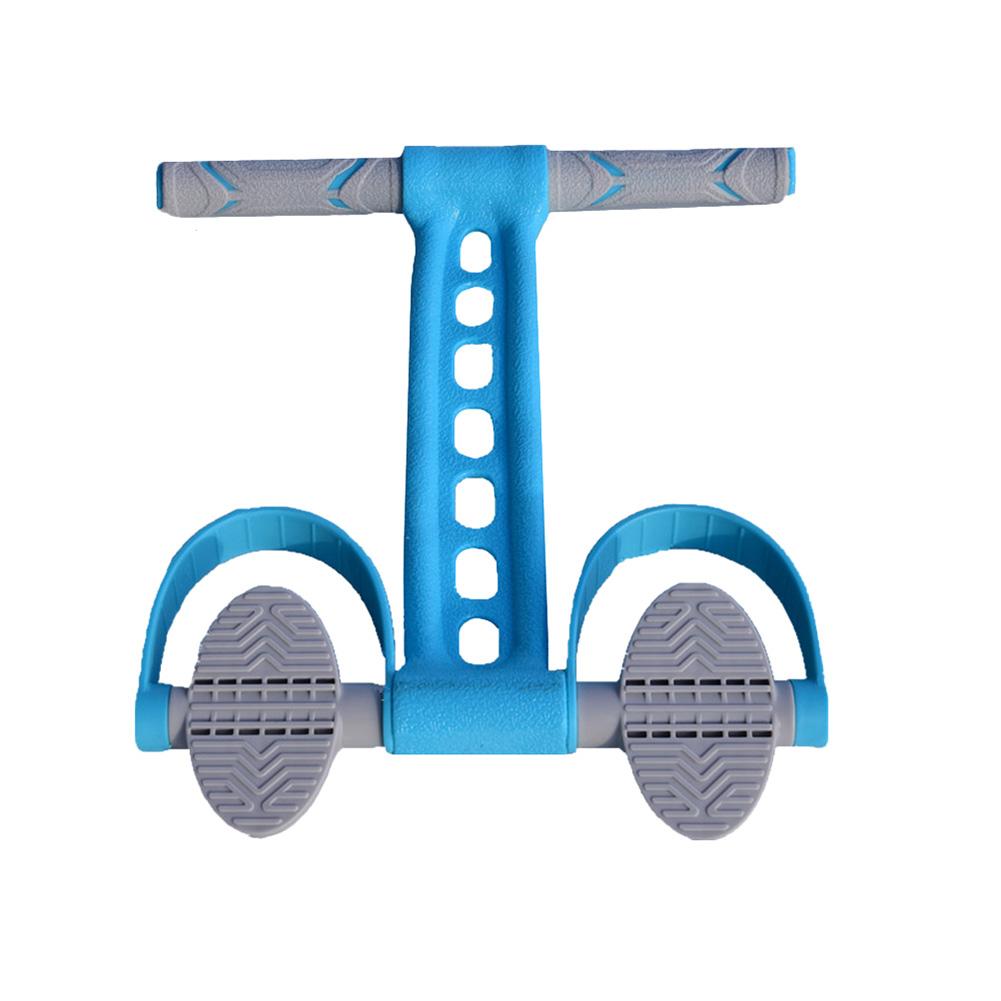 Yoga Tension Band Fitness Pedal Leg Shank Pulling Fitness Pedal Silica Gel Fitness Pedal  sky blue