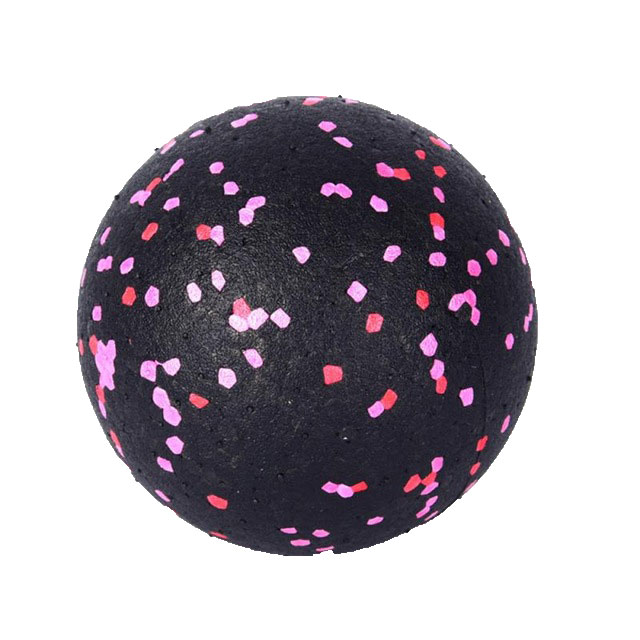 Myofascial Massage Ball Fascia Massager Roller Pilates Yoga Gym Relaxing Exercise Fitness Balls Massage Tool Black pink dots