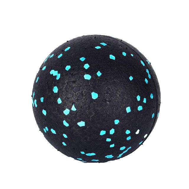Myofascial Massage Ball Fascia Massager Roller Pilates Yoga Gym Relaxing Exercise Fitness Balls Massage Tool Black green dots
