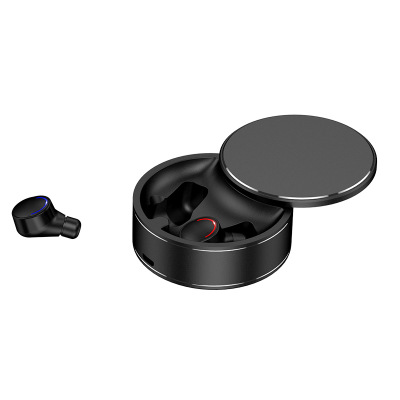 Tws-28 Bluetooth 5.0 In-ear Headset Hifi Binaural Call Waterproof Me8 Charging Rotatable Stereo Headset Binaural Black