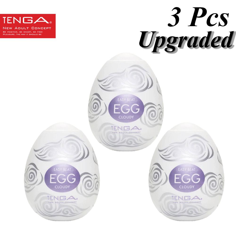 3pcs Tpr Male Masturbation Egg Erotic Toy Pocket Men Penis Massage Sexual Toy 10