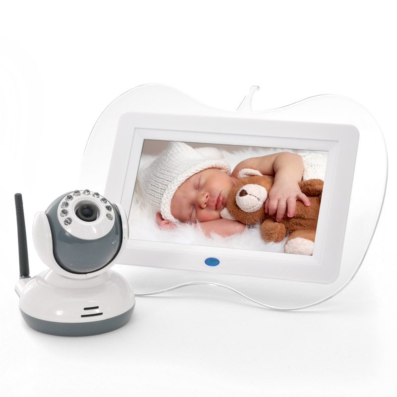 7 Inch 2.4GHz Digital Wireless Baby Monitor