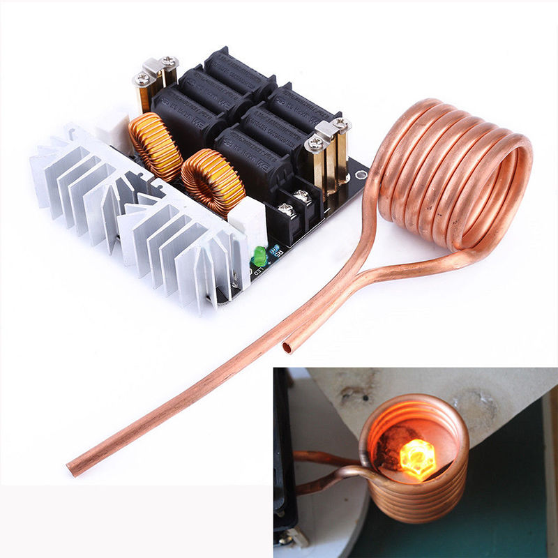 1000W ZVS Low Voltage Induction Heating Board Module Flyback Driver Heater DIY ZVS high frequency induction heating machine
