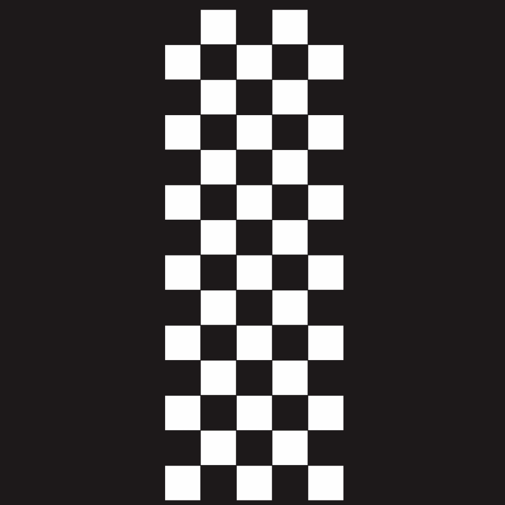 Car Covers Vinyl Racing Sports Decal Head Sticker Stripe Plaid Pattern Car Decal Accessories white